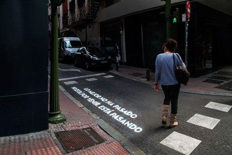 """C/ Farmacia esquina Fuencarral 40°42'39.83""""N -3°70'05.78""""W"""
